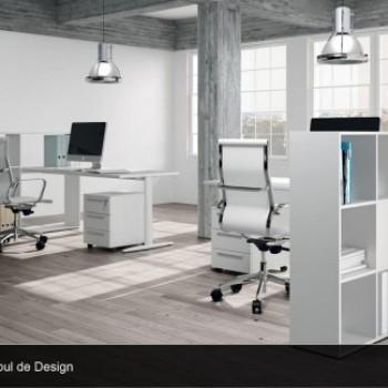 Amenajarea biroului poate porni începând cu ajutorul culorilor